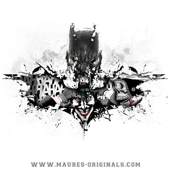 Tshirt BatMor by Maures Originals