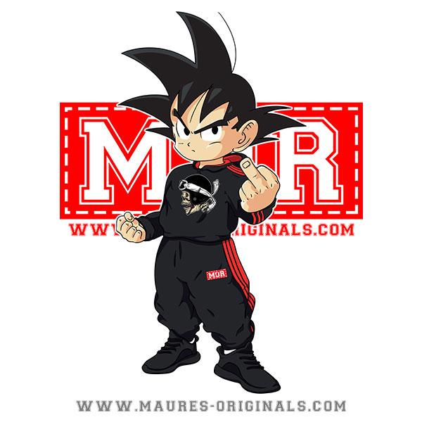 Tshirt MOR Goku Maures Originals