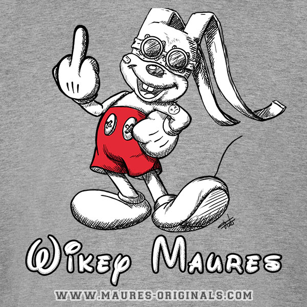 Tshirt Wikey Maures Fuck
